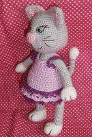 NÁVODY HÁČKOVÁNÍ Pet Toys, Free Crochet, Crochet Cats, Smurfs, Free Pattern, Diy And Crafts, Hello Kitty, Crochet Patterns, Snoopy