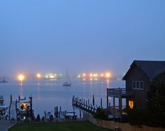 This was my screensaver for a long time. Ocracoke is one of the most serene places I have ever been. Especially love it on a misty fall night.