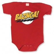 Big Bang Theory Bazinga Red Onesie- Best Gift for Baby