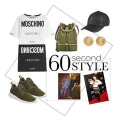 """""""Views"""" by queenofself on Polyvore featuring Moschino, NIKE, MANU Atelier, Versace, DRAKE, views and 60secondstyle"""
