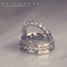 Follow @benchmarkrings to see more content!  #benchmarkretailer #benchmarkwk27  Style #: (T to B) 5535015W & CF528634W.