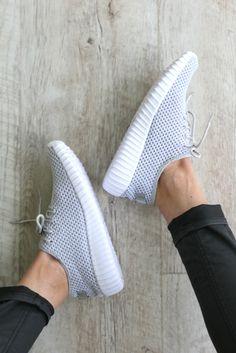 Mesh Sneakers - Grey