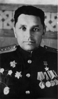 Hero of the Soviet Union, battery commander 153rd Urazovskogo Guards Artillery Regiment, 73rd Guards Rifle Division. Stalingrad Red Guard Captain Nicholas Timosionevich Pooha (05/20/1915 - 07/01/1989).