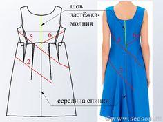Клуб любителей шитья Сезон - сайт, где Вы можете узнать все о шитье - Платье по мотивам JIL SANDER