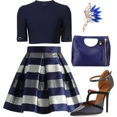 Untitled #1496 by janicemckay on Polyvore featuring Thierry Mugler, Chicwish, Malone Souliers and Tom Ford