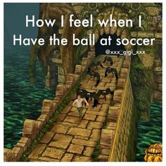 Yeah. It feels like everybody's trying to come and kill you. #soccerlife