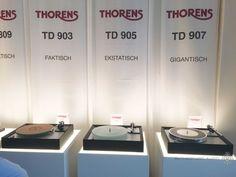 Thorens 900 series high end audio audiophile