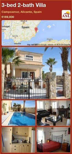3-bed 2-bath Villa in Campoamor, Alicante, Spain ►€169,000 #PropertyForSaleInSpain