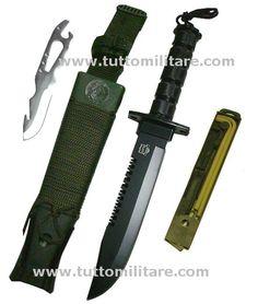 Coltello Survival Knife Jungle King MP 9