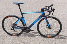 KTM Revelator Lisse fully-integrated cockpit carbon disc-brake aero road bike blue Elite complete