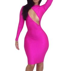 d4daf45d62 Side Cut Out Bodycon Dress. Find this Pin and more on Prima Dons and Donnas  ...
