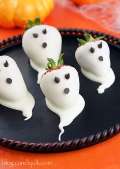 Strawberry Ghosts @Melissa Squires Squires Squires Henson CandiQuik