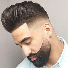Imagen cortes-de-pelo-corto-hombre-degradado-muy-marcado-moreno del artículo Fotos de Cortes de Pelo Corto Hombre y Peinados 2016 | Primavera Verano