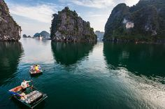 Private Tour: Deluxe Halong Bay Day Cruise including Seafood Lunch from Hanoi Take a one-day tour to the spectacular World Heritage listed site of Halong Bay by a traditional Vietnamese junk boat, while enjoying a delicious seafood lunch. Halong Bay is one of Vietnam's most spectacular natural wonders with over 3000 natural limestone islands dotting the bay.Your full-day tour to Halong Bay begins with the drive from Hanoi which takes approximately 3-hours by road. Once at Halo...