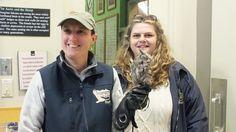 Mountsberg Raptor Centre - Sandra and Lara