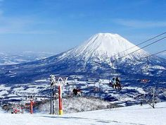 Niseko Ski Resort Hokkaido, Japan