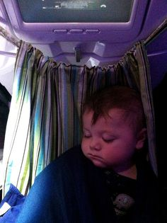Use A Ring Sling As A Baby Hammock On A Plane Kiddie