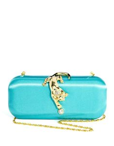 Talullah Tu Lyla Panther Box Clutch Bag
