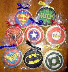 Superhero Cookies Superheroes Superhero by CelebratewithCookies