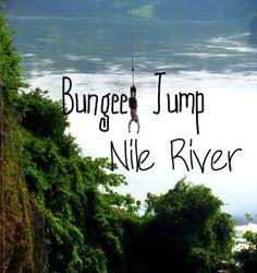 Bungee Jump over the Nile in Uganda - Hippie In Heels