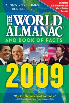 Bear achievement 8a: The World Almanac and Book of Facts 2009