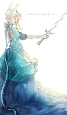 "Fionna...""I will draw the sword for you"""