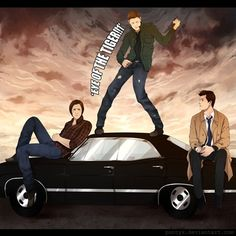"""Sam to Castiel, """"Just let him work it out."""" .... This is beautiful. Must watch more supernatural!!"""