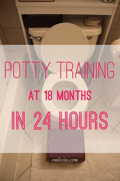 Potty Training at 18 months (Diaper Free and in 24 hours)