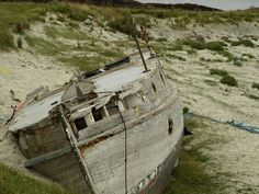tiree wreck Vernacular Architecture on Scotlands Remote Isle of Tiree