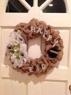 Happy Eid door wreath