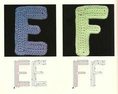 Crochet Knitting Handicraft: ABC News Love Crochet, Crochet Gifts, Learn To Crochet, Irish Crochet, Crochet Yarn, Crochet Flowers, Crochet Toys, Appliques Au Crochet, Crochet Motifs