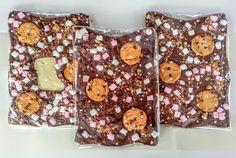 Hotel Chocolat Style Chocolate Slabs Gift Recipe: Rocky Road