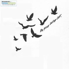 """Birdcage with birds escaping and the words """"be your better self""""....but I might just like """"be free"""" better"""