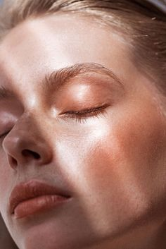 Love this dewy skin and subtle colour