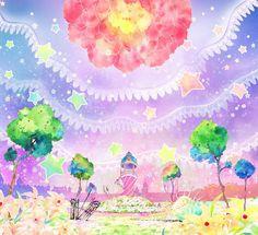Kaeveeoh Background Art From Hibiki Yoshizaki Daokos GIRL