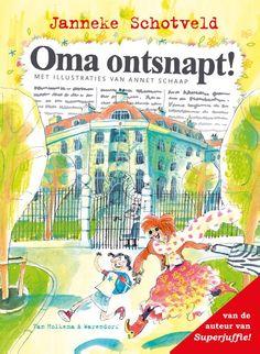 Oma ontsnapt! (Boek) door Janneke Schotveld | Literatuurplein.nl Kids Class, School Pictures, Toys For Girls, New Books, Teaching, Picture Books, Heaven, Camping, Kunst