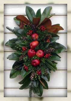 Resultado de imagen de natural christmas decorating ideas