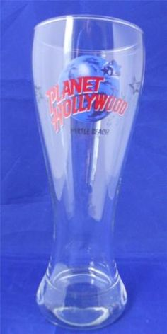 Planet-Hollywood-Myrtle-Beach-Beer-Glass-Pilsner-20-oz-Barware