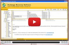 You can restore your EDB file by the help of Enstella Restore EDB to PST tool.