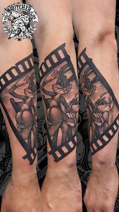 Bugs Bunny Tattoo, Artist: Christian (Heidi) The Butcher Tattoo