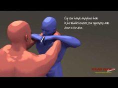 Tutorial Krav Maga Defense Against Chokes and Grabs, Simultaneous Counterattack - YouTube