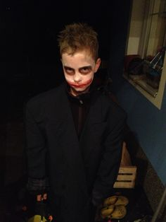 "my son ""the joker"" :-)"