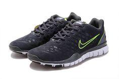 OVtwKbXs Nike Free Run Tr Fit Grey Green Men's Shoes