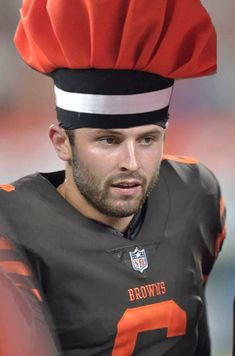 Baker Mayfield Hat. Cleveland Browns HatBaker MayfieldFootball ... c1e8b827b