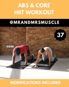 Share, Pin and Try this 10 minute Abs sculpting HIIT Workout with Beginner modifications. Pin, Share and Tag your workout partner! Intense Ab Workout, Full Body Hiit Workout, Gym Workout Videos, Fitness Workout For Women, Sport Fitness, Fitness Workouts, Fitness Tracker, At Home Workouts, Workout Partner