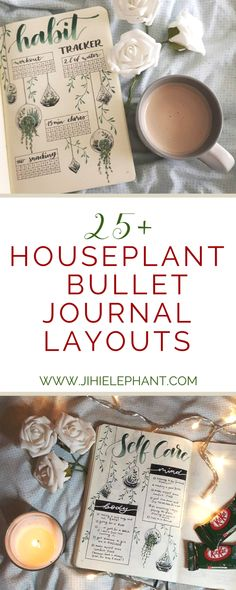 Houseplant-Inspired Bullet Journal Layouts If you are anything like me you are obsessed with house plants and you have way too many—yet not enough… Back in October, I had a houseplant themed bullet journal, and to this day it is still my favorite. Bullet Journal Disney, Bullet Journal Harry Potter, Bullet Journal October, Bullet Journal Mood, Bullet Journal Hacks, Bullet Journal Ideas Pages, Bullet Journal Spread, Bullet Journal Layout, Bullet Journal Inspiration