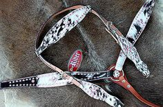 HORSE BRIDLE WESTERN LEATHER HEADSTALL BREAST COLLAR PINK BLING RODEO TACK HB548