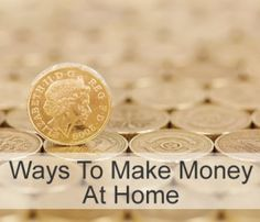 Ways to make money at home. (This is a short list of websites that pay you a small amount of money to participate in surveys)