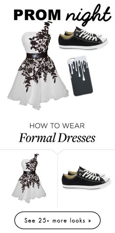 """""""Prom"""" by ahays14 on Polyvore featuring Converse"""