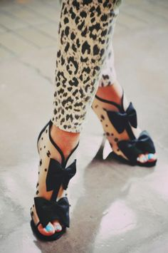 Those shoes!!